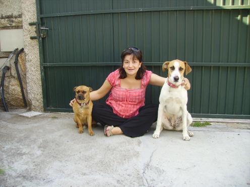 Danka con Alicia y Bruce